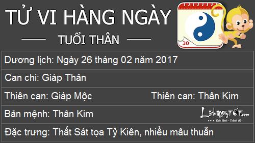 Tu vi Chu Nhat ngay 2622017 cua 12 con giap hinh anh goc