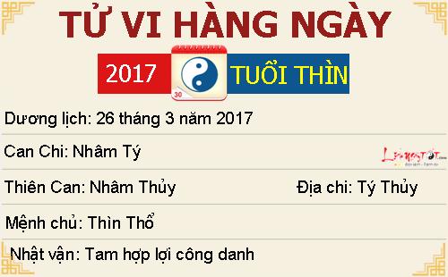 Tu vi Chu Nhat ngay 2632017 cua 12 con giap hinh anh goc 6