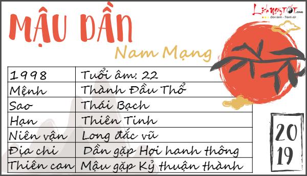 Tu vi tuoi Mau Dan 2019 nam mang