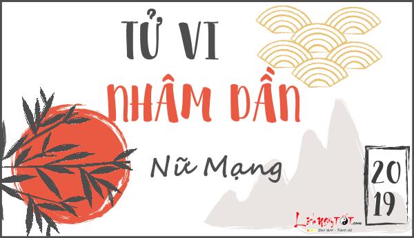 Xem tu vi chi tiet tuoi Nham Dan nu mang nam 2019