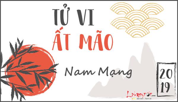 Tu vi At Mao 2019 cho nam menh