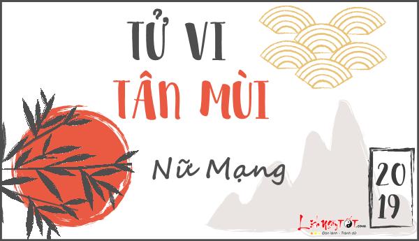 Tu vi Tan Mui nam 2019 nu mang