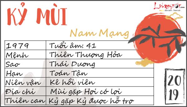 Tu vi 2019 tuoi Ky Mui nam mang