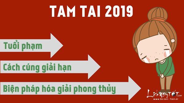 Tam tai 2019, cach cung giai han