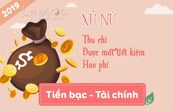 Tai Chinh Xu Nu 2019