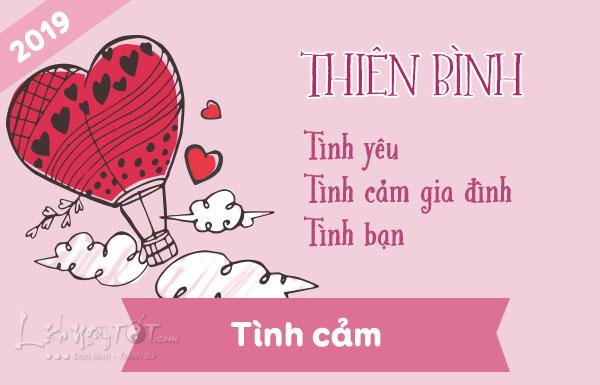 Tinh cam Thien Binh 2019