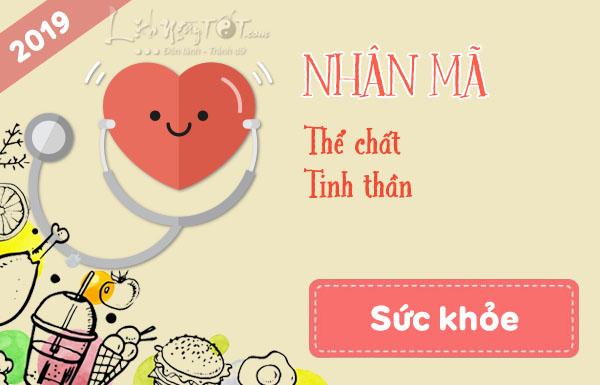 Suc khoe Nhan Ma 2019