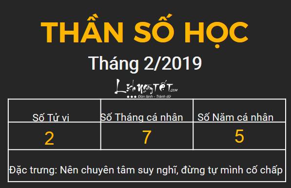 2xem boi ngay sinh bang Than so hoc thang 02.2019 so 2