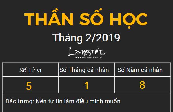 5xem boi ngay sinh bang Than so hoc thang 02.2019 so 5