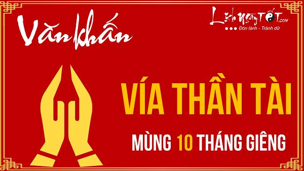 Van khan ngay via Than Tai mung 10 thang Gieng