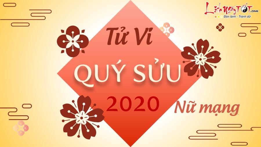 Tu vi 2020 Quy Suu nu mang