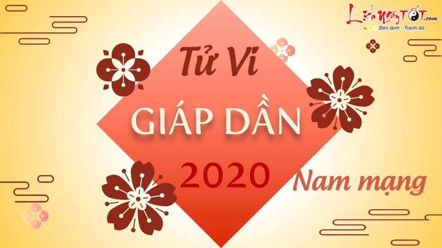 Tu vi 2020 Giap Dan nam mang