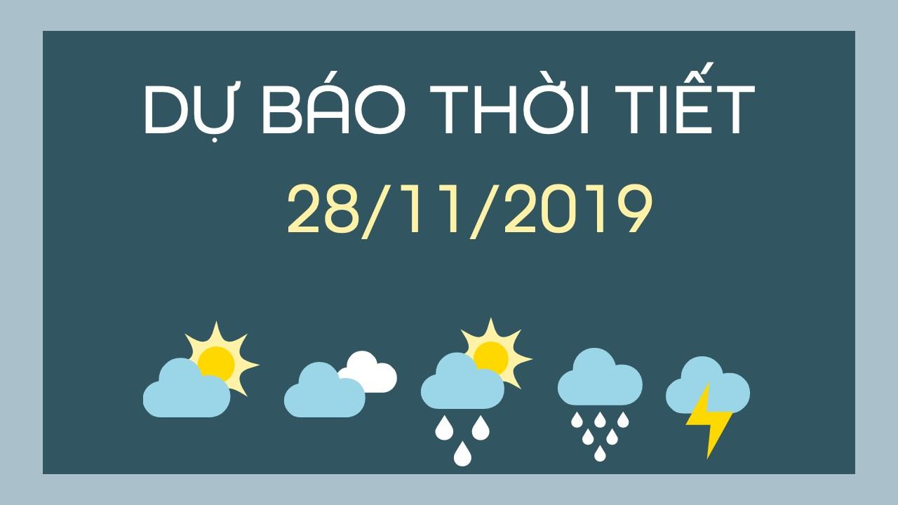 DU BAO THOI TIET 28112019