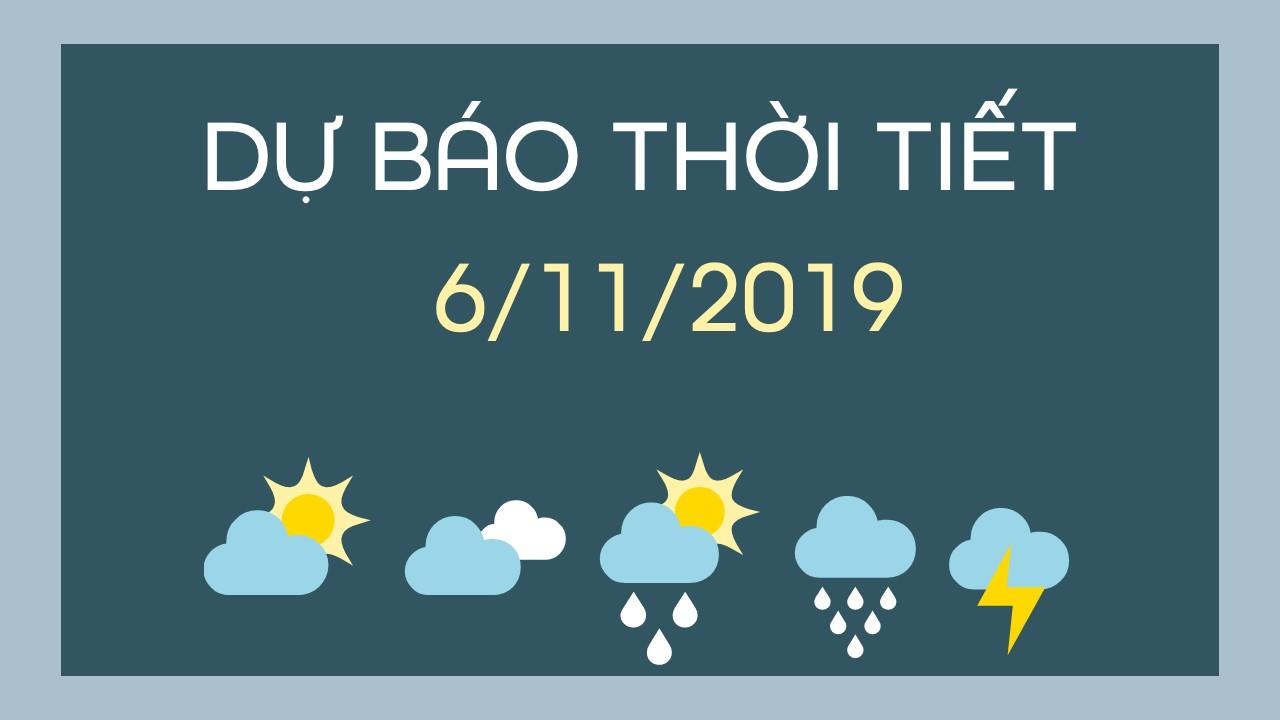 DU BAO THOI TIET 6112019