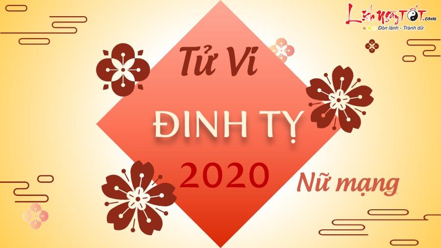 Tu vi 2020 Dinh Ty nu mang