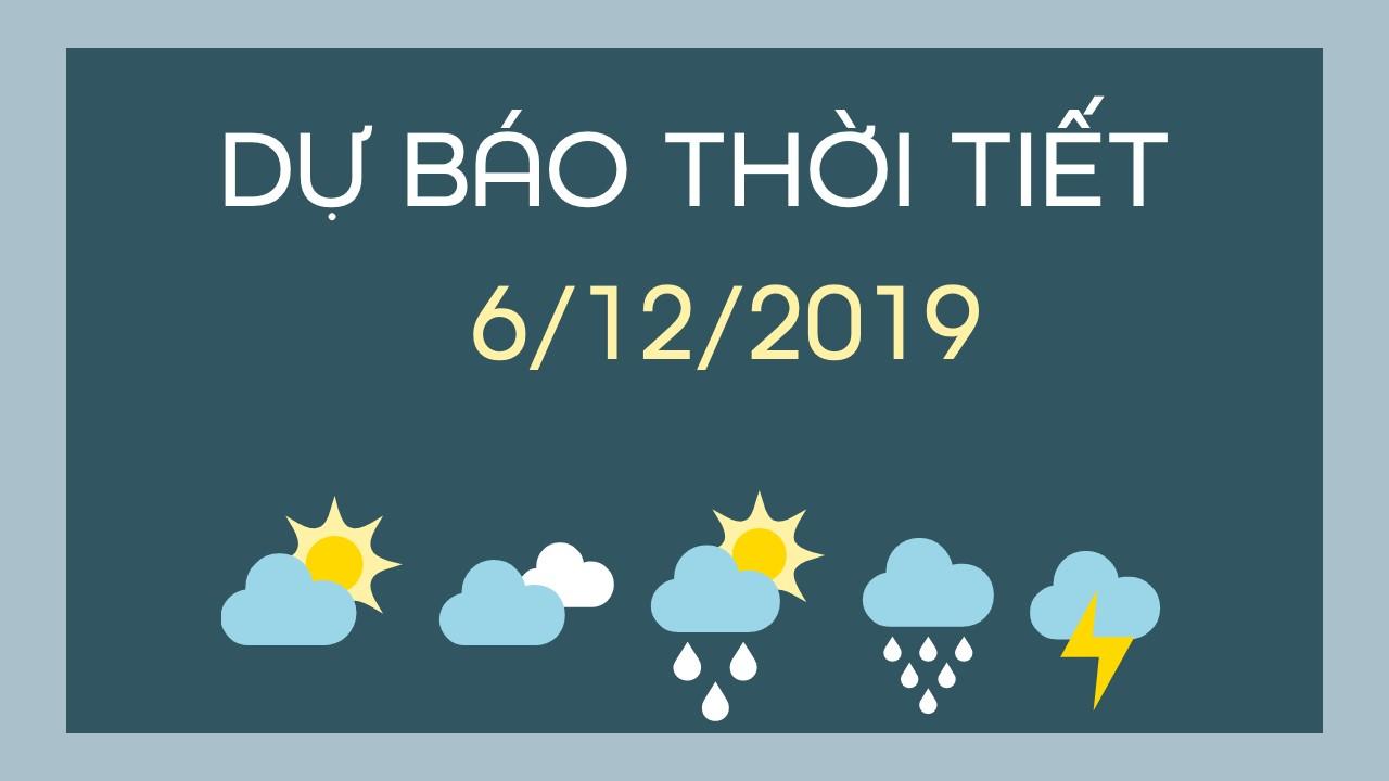 DU BAO THOI TIET 6122019