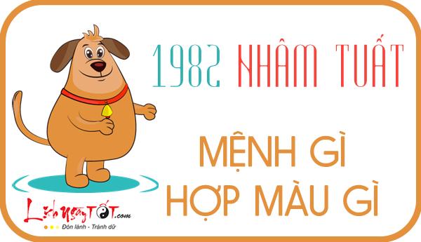Sinh nam 1982 menh gi, Nham Tuat
