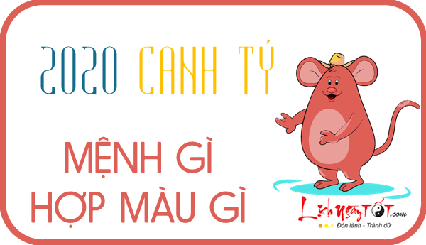 Sinh nam 2020 menh gi, tuoi Canh Ty
