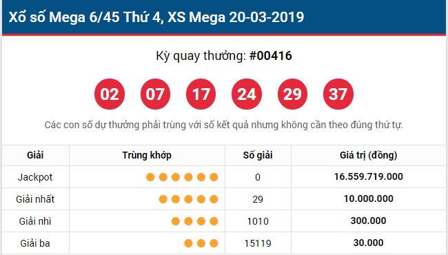 KQXS mega  43