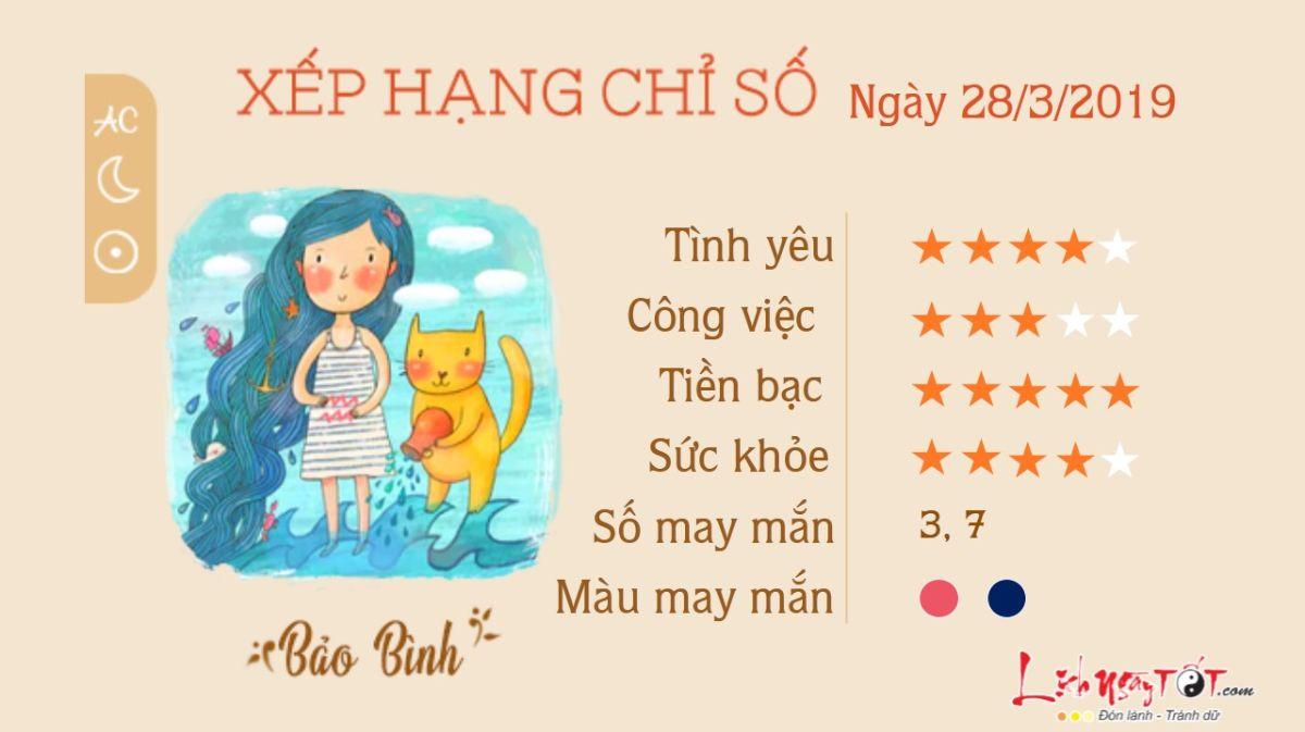 TU VI HANG NGAY-TU VI 28032019 CUNG BAO BINH