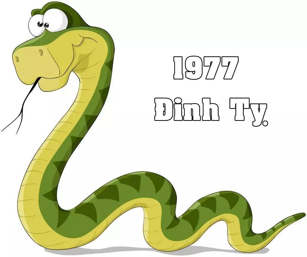 Sinh nam 1977 menh gi
