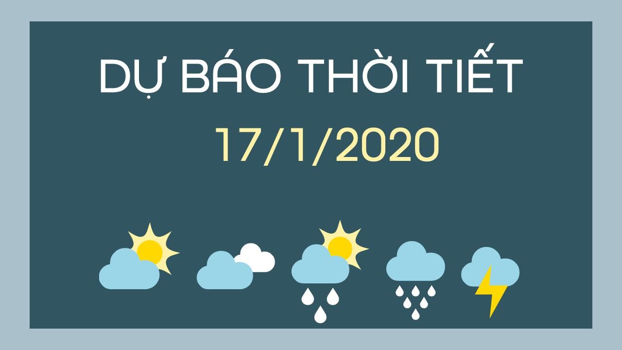 DU BAO THOI TIET 17012020