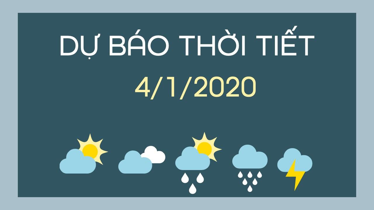 DU BAO THOI TIET 04012020