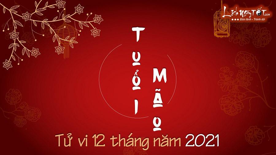 Tu vi thang trong nam 2021 cua tuoi Mao