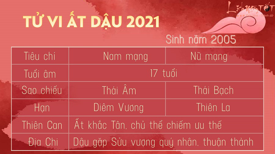 Tu vi tuoi At Dau 2005 nam 2021