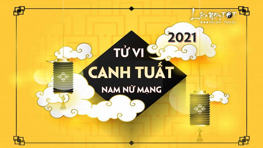 Tu vi Canh Tuat 2021