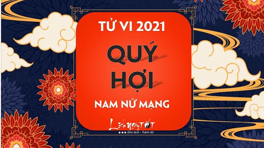 Tu vi Quy Hoi 2021