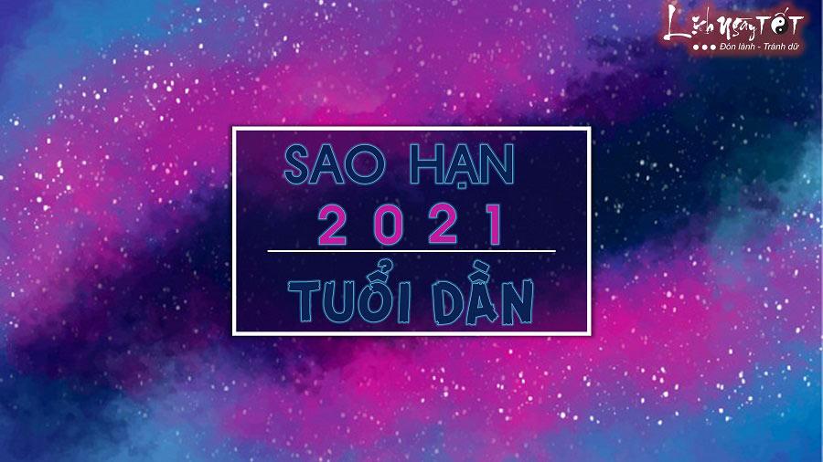 Sao han 2021 tuoi Dan