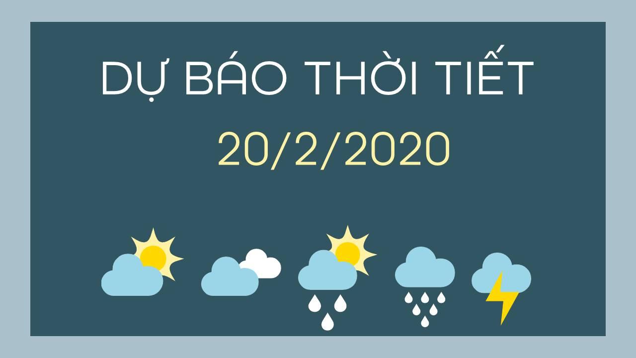 du bao thoi tiet 20022020