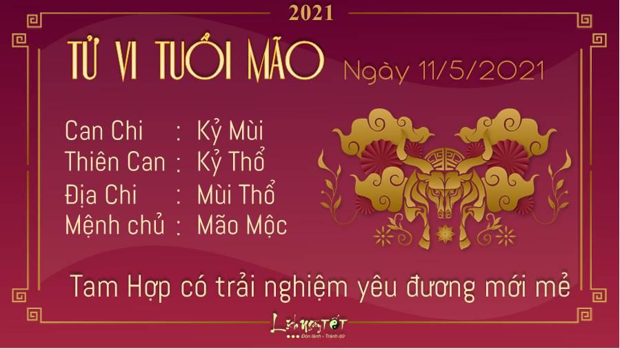Tu vi hang ngay 1152021 - Tuoi Mao