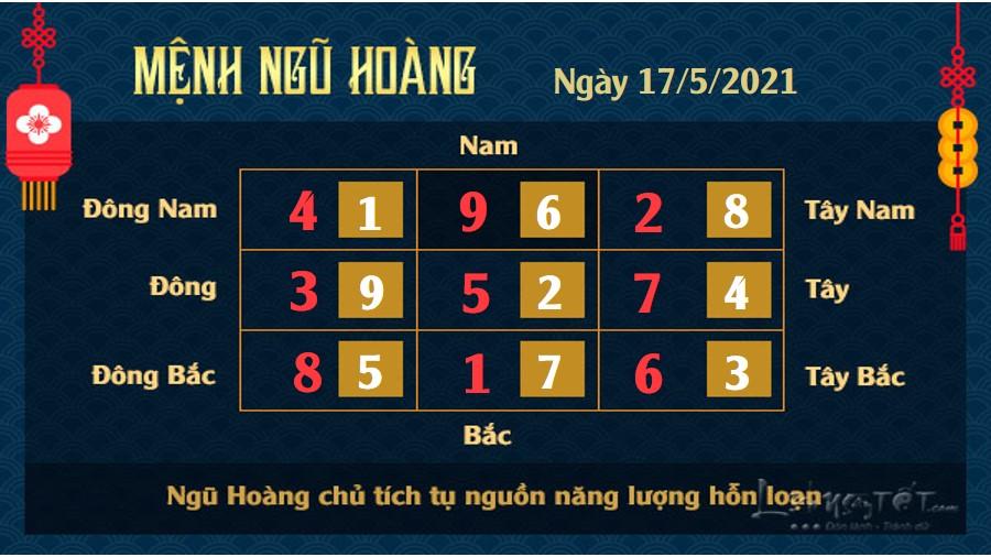 5 Xem phong thuy ngay 17-5-2021 Ngu Hoang