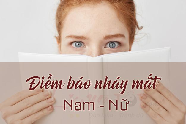 Điềm báo nháy mắt phải nháy mắt trái ở nam nữ là gì?
