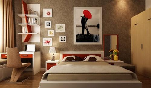 Kết quả hình ảnh cho tranh phong thủy cho phòng ngủ
