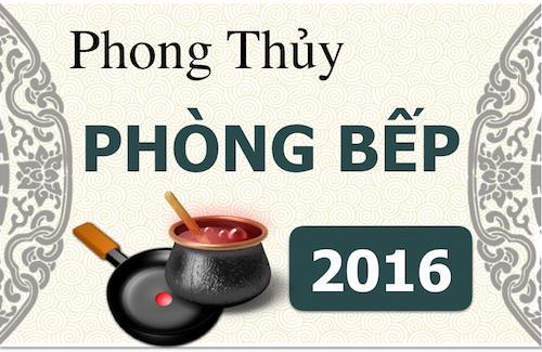 Infographic: Phong thủy phòng bếp vượng gia trạch 2016