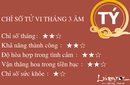 Tu vi nguoi tuoi Ty thang 3 Am lich nam 2016 hinh anh 2