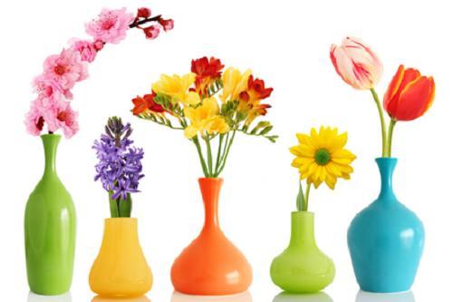 Binh hoa phong ngu chuan phong thuy cho cac chi em hinh anh
