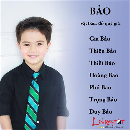 Chon ten hay cho be trai P1 hinh anh 4