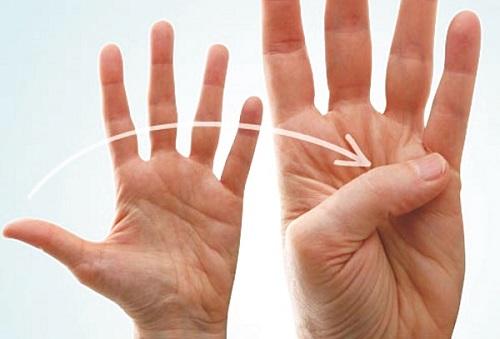 Đoán biết thành công hay thất bại trên bàn tay bạn
