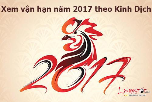 Xem vận hạn năm 2017 theo phương pháp Kinh Dịch
