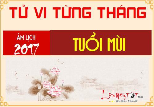 Tong quan tu vi tuoi Mui nam Dinh Dau 2017 cho 12 thang hinh anh