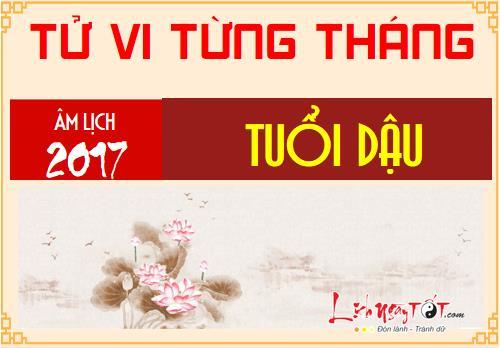 Tu vi thang Tong quan 12 thang nam Dinh Dau 2017 tuoi Dau hinh anh