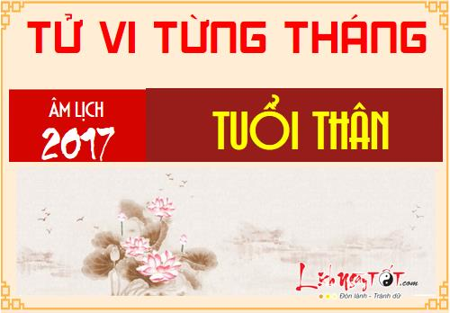 Tu vi thang Tong quan 12 thang nam Dinh Dau 2017 tuoi Than hinh anh