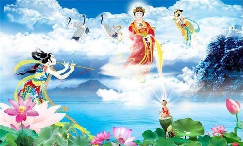 Lam the nao de van sanh ve Tay phuong Cuc lac