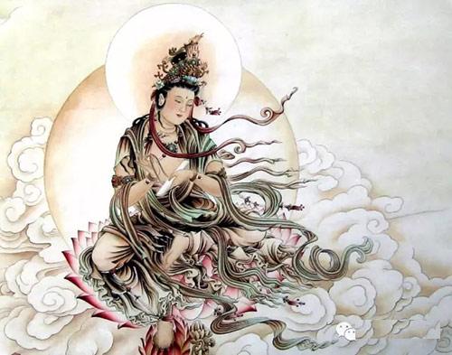 Trung Thu ngam trang, bai vong dan sinh Nguyet Quang Bo Tat hinh anh