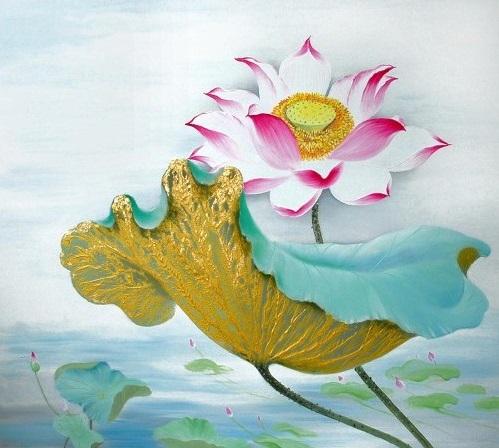 Y nghia hoa sen trong Phat giao hinh anh goc