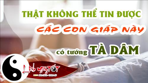 That khong the tin duoc, cac con giap nay lai co tuong ta dam hinh anh